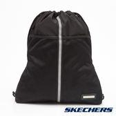 SKECHERS 運動束口袋 黑 - S45206