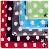 腳踏墊地墊 - 5色點點 [極佳親水性] 質地細膩 紓壓防滑 寢國寢城台灣製