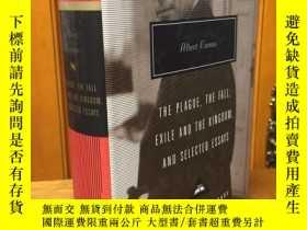 二手書博民逛書店The罕見Plague, the Fall, Exile and