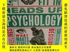 二手書博民逛書店圖解心理學大百科罕見DK Heads Up Psychology