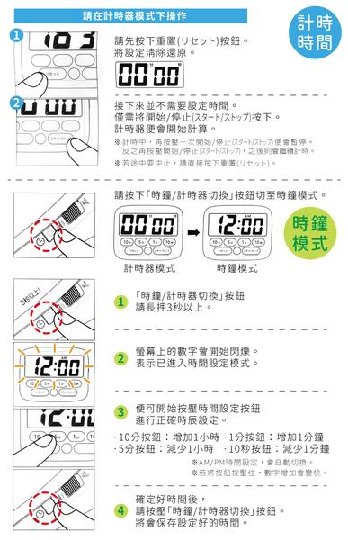 又敗家@日本SONIC訓練時間感電子時鐘LV-3051計時器LED鬧鐘(可靜音/燈警示)考試學習時鐘倒數器