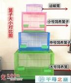 籠兔籠家庭飼養籠荷蘭鼠豚鼠鐵絲籠寵物兔籠用品運輸籠【千尋之旅】