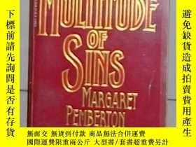 二手書博民逛書店英文原版罕見A Multitude of Sins by Mar