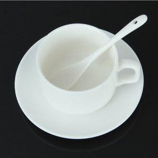 陶瓷杯子 帶碟勺套裝