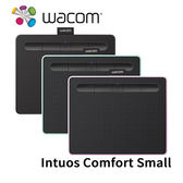 【限時8/31前登錄送LP-1100 4K數位筆】 Wacom INTUOS Comfort Small 繪圖板 CTL-4100WL (藍牙版)