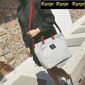 【YPRA】帆布包包 帆布包女包單肩包斜挎包