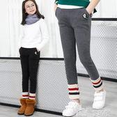 兒童保暖褲 女童秋裝兒童打底褲加絨加厚大童保暖褲外穿女孩褲子秋冬 童趣屋