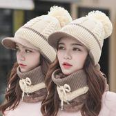 女冬天加厚韓版鴨舌毛線帽OR1199『miss洛羽』
