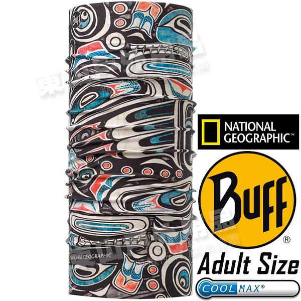 BUFF 117129.555_國家地理授權 Adult UV Protection魔術頭巾 Coolmax防臭抗菌圍巾 東山戶外