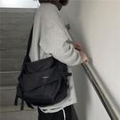 2021新款潮牌斜挎包男女街頭嘻哈原宿機能包ins單肩包工裝包背包