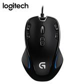Logitech 羅技 G300s玩家級光學遊戲鼠/USB(黑)