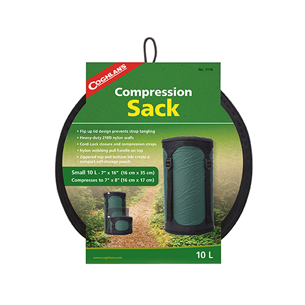 [COGHLAN'S] Compression Sack 睡袋壓縮袋 10L (1116)