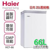 Haier海爾 1尺4 直立式式冷凍櫃【HCF-66】