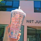 少女心吸管水杯女學生韓國清新可愛杯子塑料成人ins夏網紅
