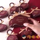 20個裝 喜糖盒禮盒裝包裝結婚高檔糖盒糖果婚禮【淘嘟嘟】