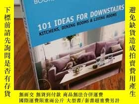 二手書博民逛書店101罕見Ideas for Downstairs: Kitch