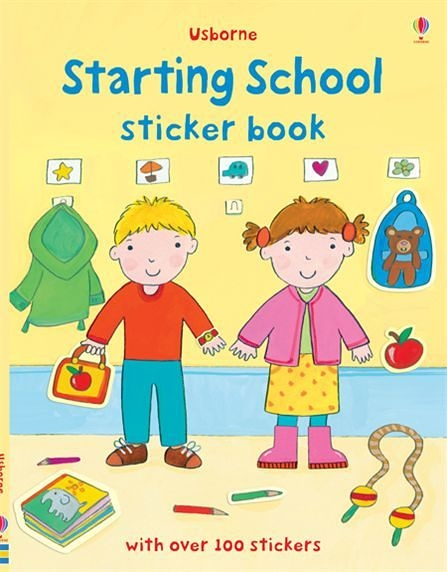 Starting School Sticker Book 穿衣服貼紙書:學校生活