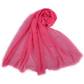 COACH經典大LOGO喀什米爾羊毛混紡薄披肩圍巾(粉紅色)190948-1