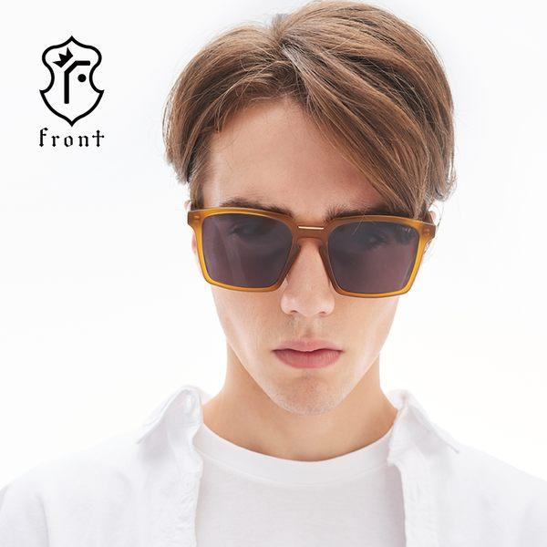 【Front 太陽眼鏡】Hero-四色可挑選#潮流歐美方框太陽眼鏡/墨鏡