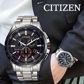 【最後1只】CITIZEN 鈦金屬光動能藍牙手機連線錶 BZ1034-52E 星辰 Eco-Drive 獨賣款 現貨!