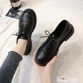 小皮鞋 黑色小皮鞋女日系jk2020夏季新款平底軟皮百搭小香英倫風單鞋秋季 Korea時尚記