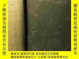 二手書博民逛書店1906年罕見THE STRENUOUS GOSPEL SERMONS 書口好像是毛邊Y277653 THOM