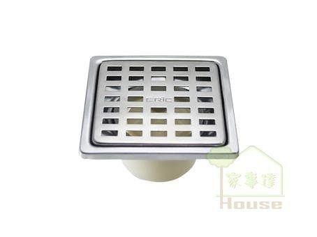 [ 家事達 ]雅麗家ERIC 台灣精品 格子型防臭落水頭PK536 特價 防臭小丸子