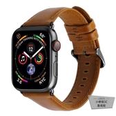 iwatch2/3/4代適用蘋果手表錶帶真皮表帶替換帶【小檸檬3C】