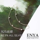 925 銀細緻小圓珠手鍊Enya 恩雅正韓飾品【BRAW6 】