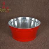 聚寶盆 聚寶桶 火盆紅色拜祭用品 紅色化金桶拜神拜佛爐 燒紙桶燒jy