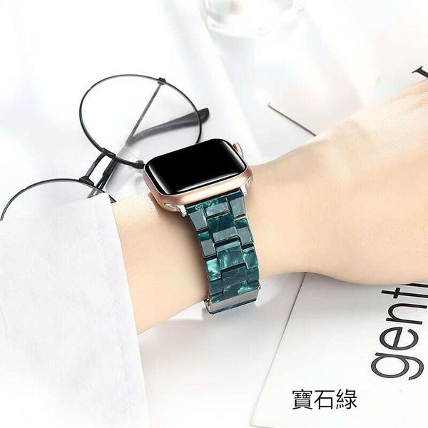 大理石紋錶帶 適用於APPLE WATCH 5 4 3 三株錶帶 iwatch 蘋果手錶錶帶 休閑錶帶