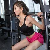 跑步健身運動文胸背心女 顯胸大瑜伽彈力速幹防震運動內衣女bar特惠免運