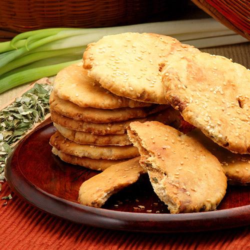 【美雅宜蘭餅】宜蘭三星蔥古法燒餅(原味)x3包