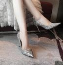 細跟性感婚紗婚鞋新娘鞋女