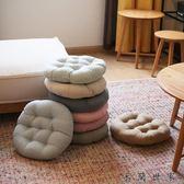 棉麻電腦餐椅墊榻榻米圓形坐墊/米蘭世家