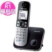R1【福利品】Panasonic繁體中文數位無線電話-黑KX-TG6811