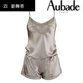 Aubade-影舞者S-L蠶絲連身衣褲(灰)ZI87