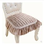 歐式餐椅墊防滑布藝坐墊中式簡約家用秋冬椅子套罩凳子墊四季通用 樂活生活館