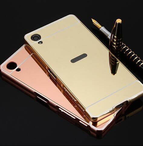 【SZ14】Sony Xperia XA1 plus手機殼 電鍍框+鏡面背板 XA Ultra 手機殼 XA1 Ultra手機殼 XA1手機殼 XZ1手機殼