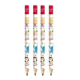 奶油獅 BLJP-2 (2B)學齡前三角鉛筆 /支