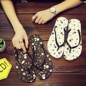 人字拖女夏防滑平底浴室學生涼拖鞋女士塑料夾腳室內拖鞋女夏平跟   mandyc衣間