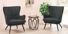 【南洋風休閒傢俱】沙發系列 - 威爾休閒沙發單人餐椅 中庭招待洽談椅 CM739-1