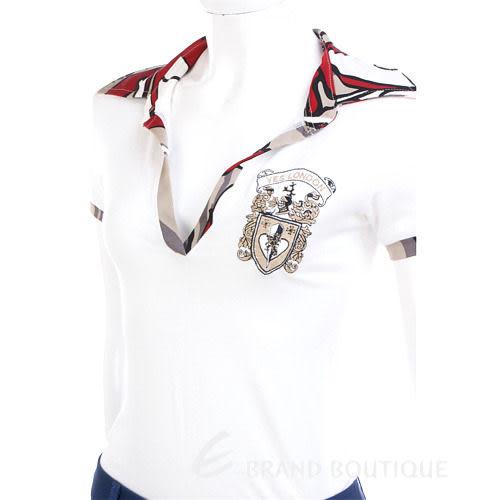 YES LONDON V領短袖POLO衫(白色) 0820072-20