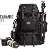 相機後背包-大容量多功能戶外專業雙肩攝影包2色71a7[時尚巴黎]