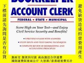 二手書博民逛書店Bookkeeper-Account罕見6th ed (Arco Civil Service Test Tutor