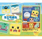 寶可夢 小方巾 毛巾 手帕 隨機出貨 盒玩 探險尋寶 日本正版 該該貝比日本精品 ☆