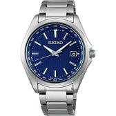 SEIKO精工 紳士經典太陽能電波校時鈦金屬腕錶 7B75-0AA0B(SBTM289J)