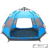 探險者戶外3-4人全自動二室一廳帳篷5-8人2人加厚防雨野營野外露