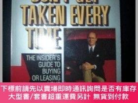 二手書博民逛書店Dont罕見Get Taken Every Time: Third Edition-別每次都上當:第三版Y41