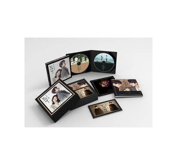 孤單又燦爛的神-鬼怪 電視原聲帶 命中注定豪華精裝典藏A版 CD 豪華精裝典藏盒 免運 (購潮8)